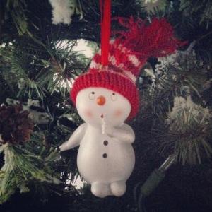 Christmas Ornament surprised