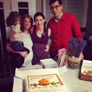 Thanksgiving Birthday 2013