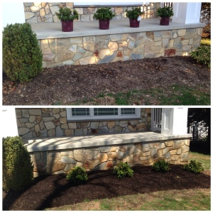 Landscaping 2014 before_after