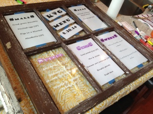 Wedding Window genius idea