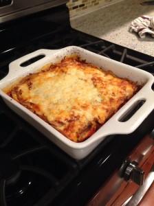 Crepe Lasagna dish