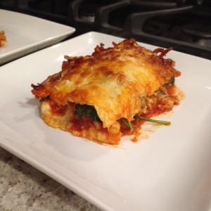 Crepe Lasagna piece
