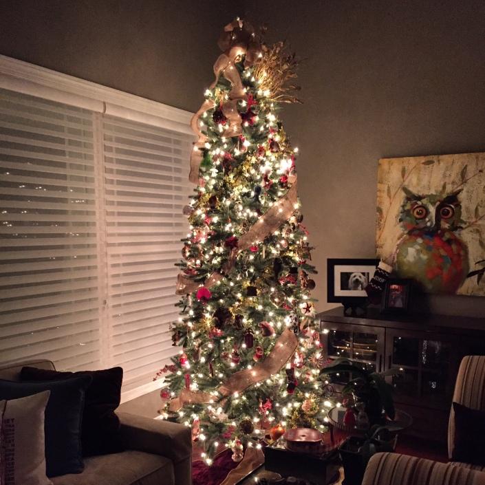 Home Christmas inside