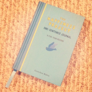 One Sentance Journal