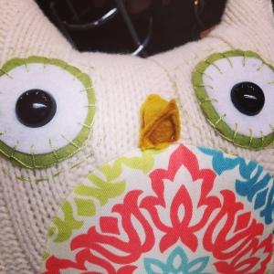 Owl Pillow1