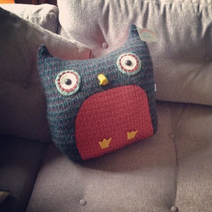 Owl Pillow2