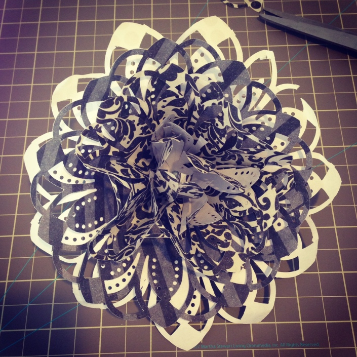 Paper Flower First try