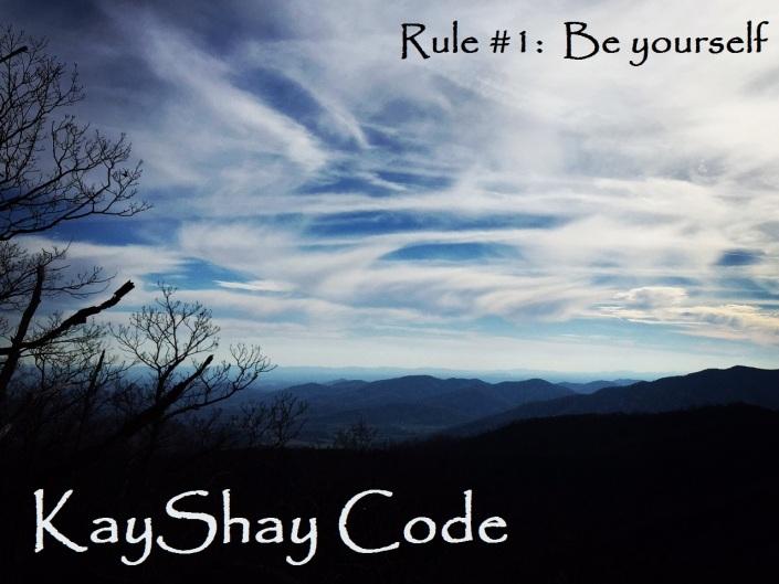 KayShay Code Rule 1