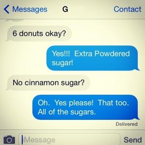 Donut Text